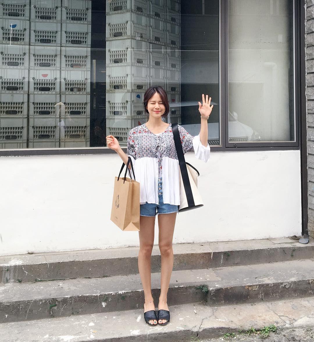 #pighip #hanhyojoo #summer style 2016