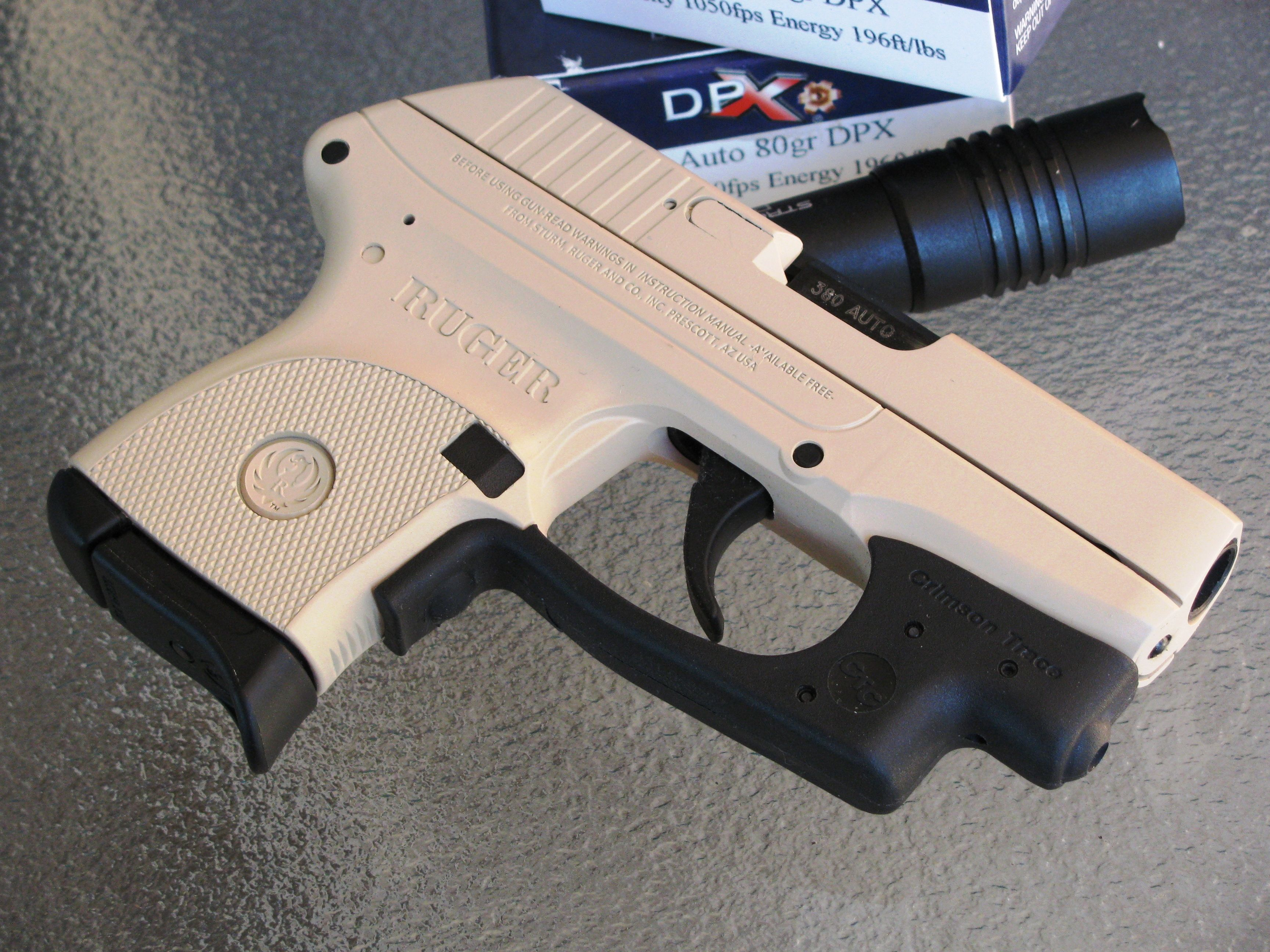 Ruger LCP ( 380 ACP) with Crimson Trace laser | Firearms photos