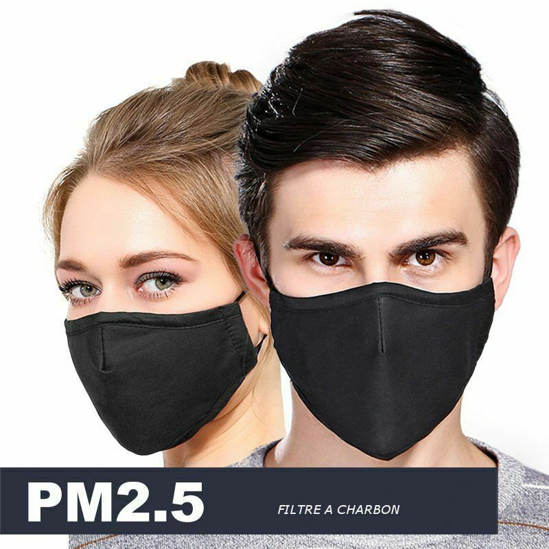 masque blanc anti pollution
