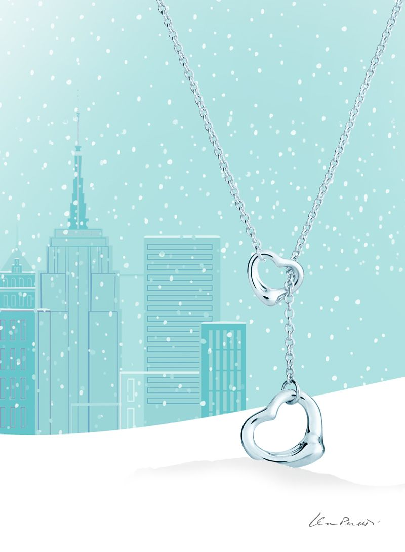 Elsa peretti open heart lariat pinterest elsa peretti elsa and its a tiffany holiday elsa peretti open heart lariat in sterling silver aloadofball Gallery