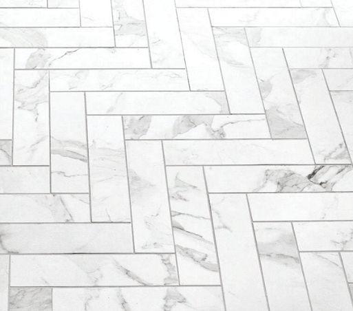 Studio M 4 X 12 Statuario Porcelain Floor Wall Tile Matte Finish On Sale 3 98 Sq Ft Flooring Porcelain Flooring Herringbone Tile Floors