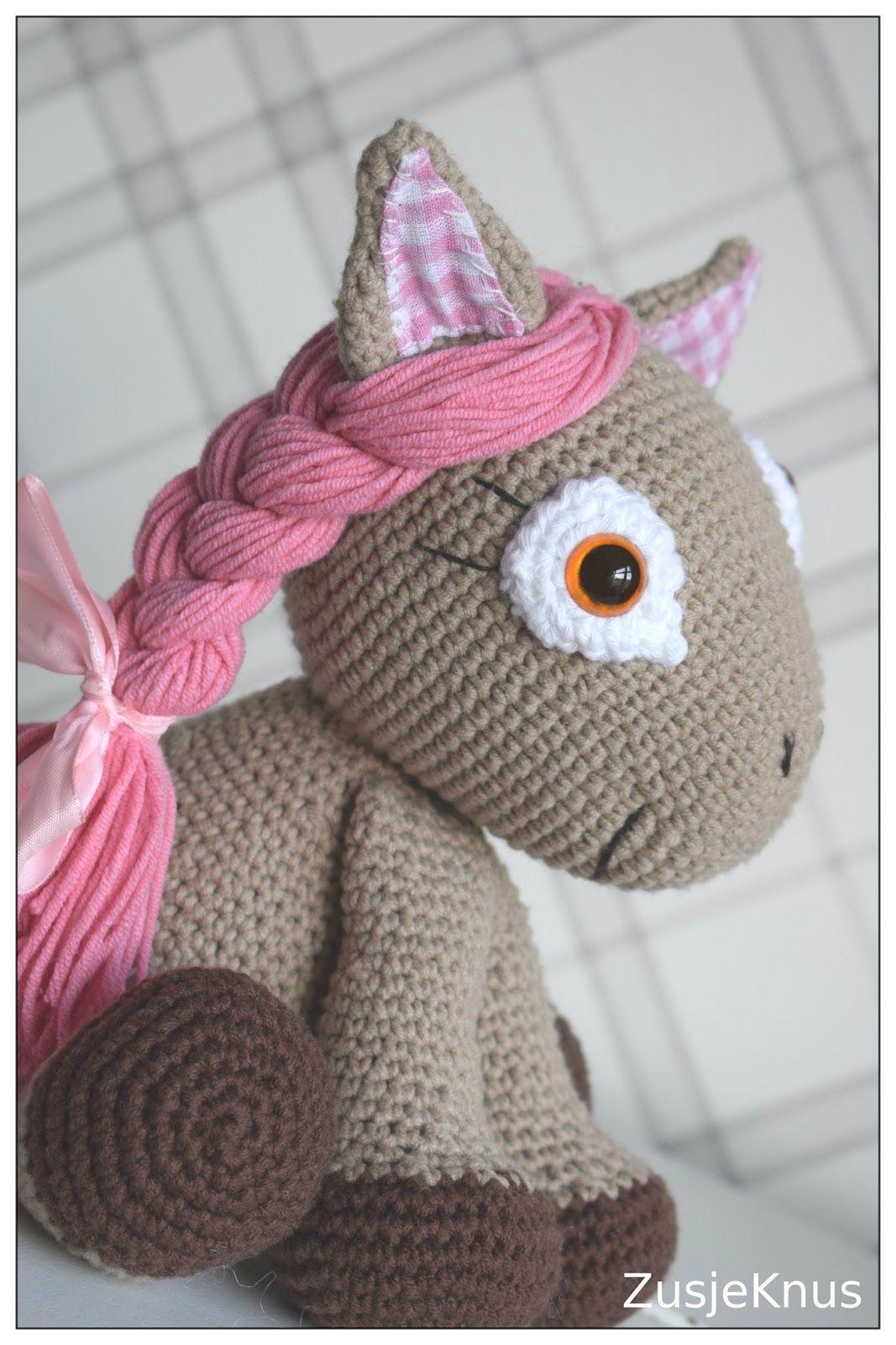 Crochet Amigirumi Horse Gehaakt Amigirumi Paard Haken En Breien