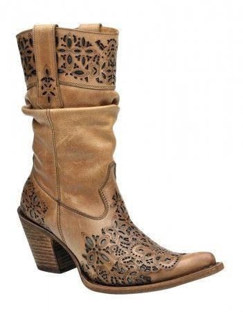 new product 576ab be21c Cuadra Damen Western- Cowboystiefel (Rindleder) 1W05SH ...