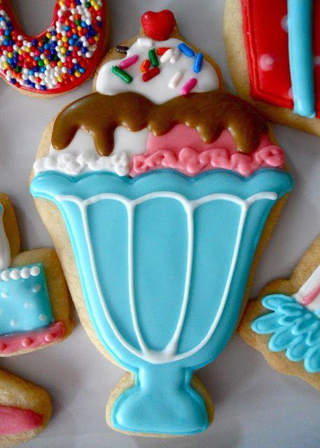 .Oh Sugar Events: Happy 40th Birthday - icecream sundae