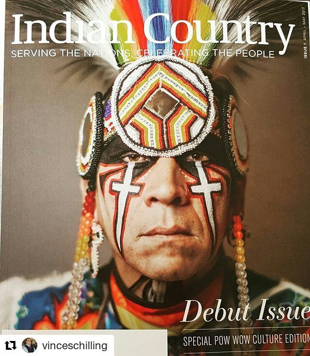 #Repost @vinceschilling with @repostapp  The debut issue of the new Indian Country Today Magazine... I'm proud to be an editor. Subscribe at www.ICTMN.com