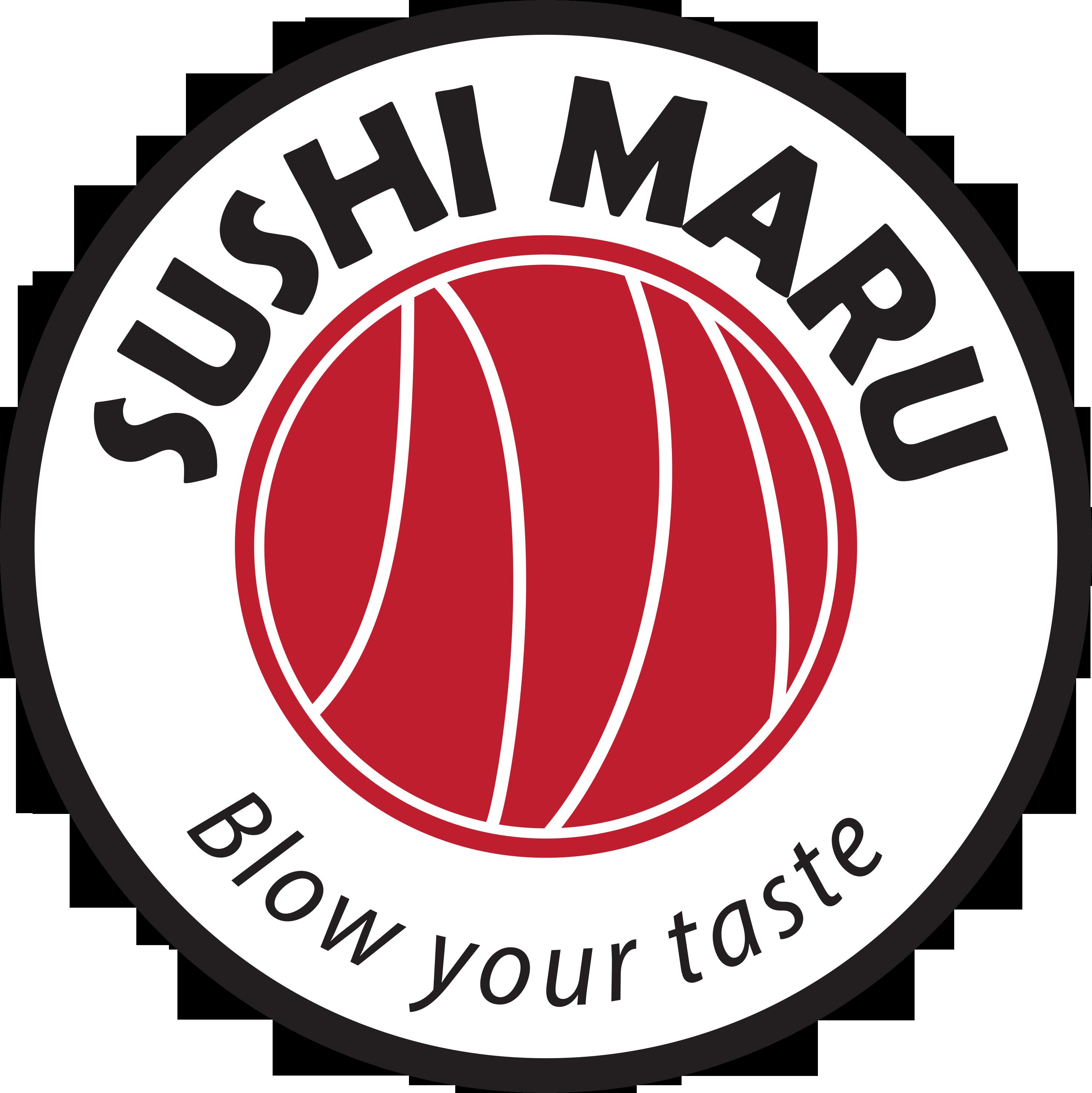Logo's Sushi Maru - design by Doremon