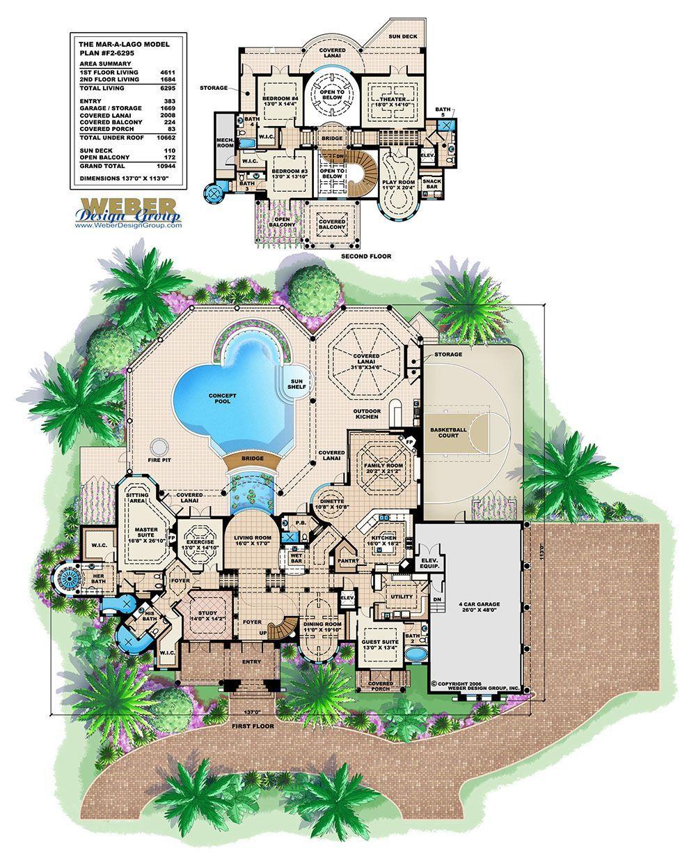 Floor Plan Luxuryhouses Mansion Floor Plan Mediterranean House Plan Dream House Plans