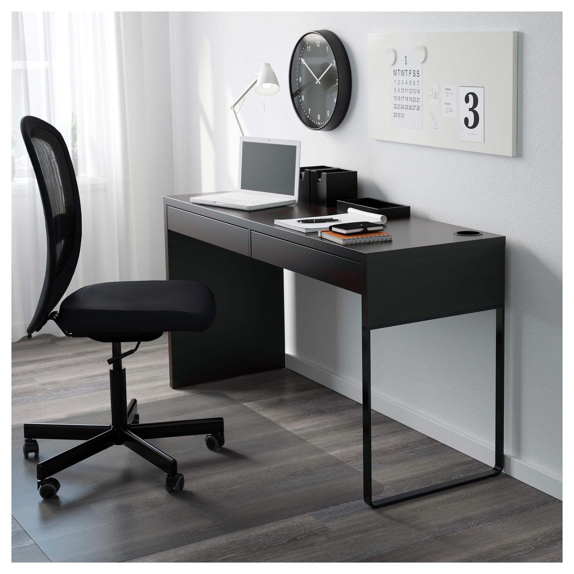 Kupit Mikke Pismennyj Stol Belyj 142x50 Sm Po Vygodnoj Cene V Internet Magazine Ikea Micke Desk Ikea Micke Desk Ikea Small Desk