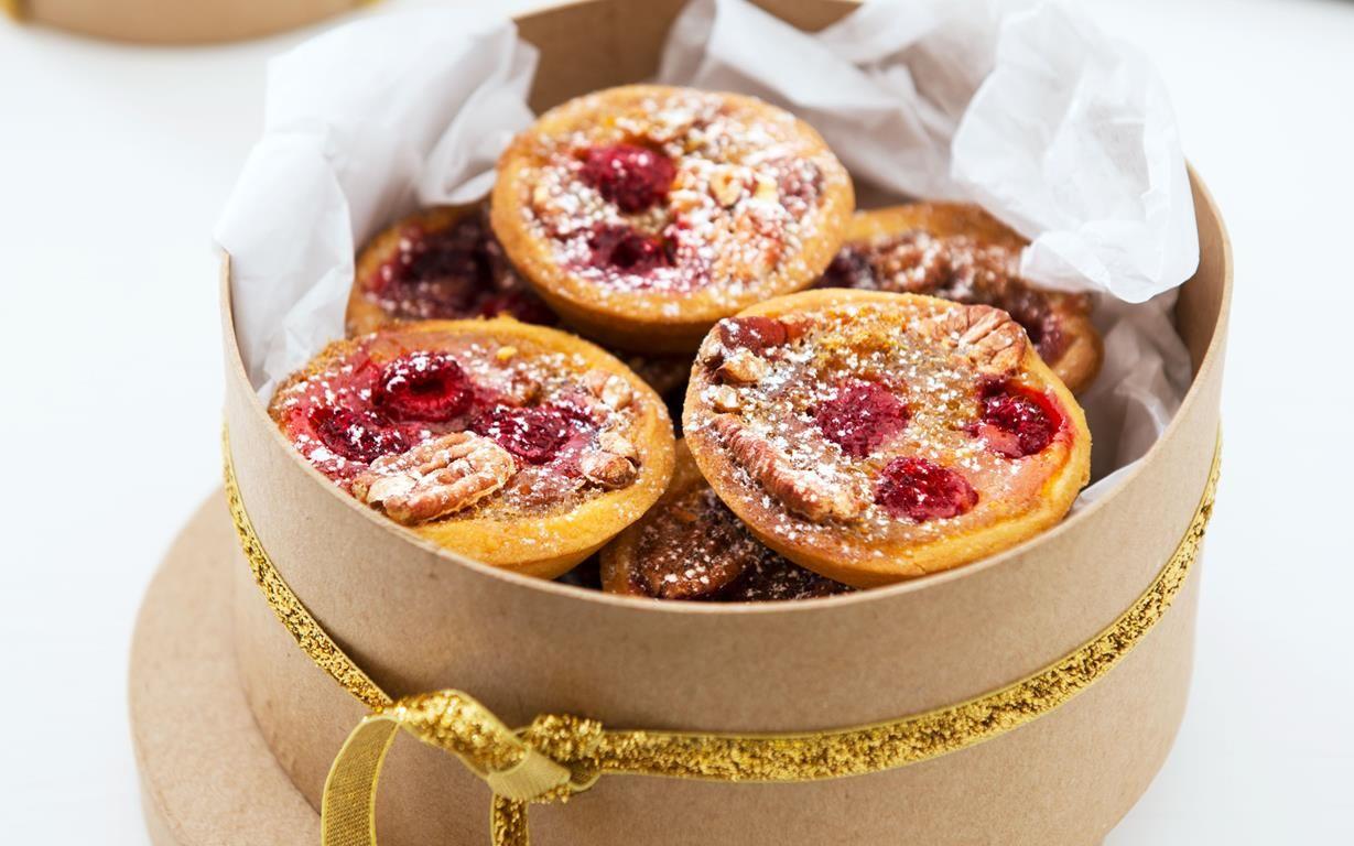 Pecan raspberry tarts | Recipe | Raspberry tarts ...