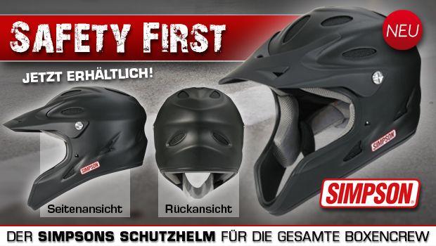 Da nicht nur der Kopf des #Fahrers geschützt werden muss! Wie gefällt Euch der neue Simpson Mechaniker #Helm Pit Warrior Crew?