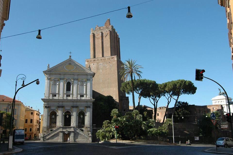 S.Caterina da Siena e Torre delle Milizie