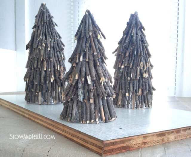 8 Rustic DIY Twig Christmas Crafts