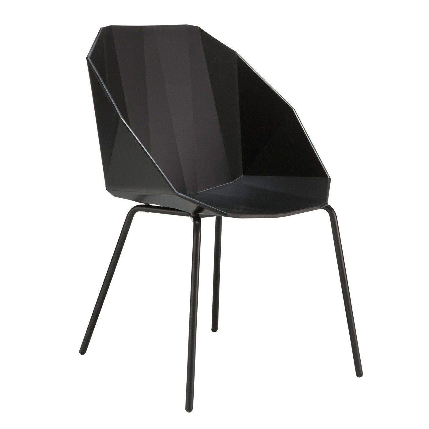 Rocher Dining Chair Black Black Legs Luxury Dining Chair Modern