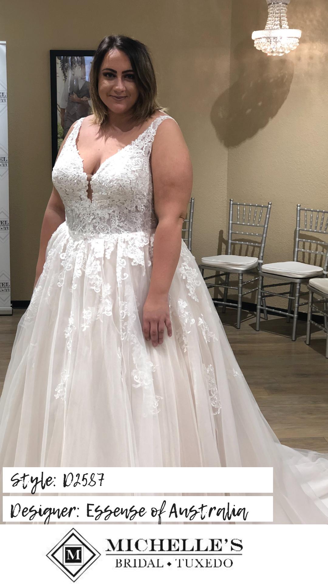 Plus Size Michelle S Bridal And Tuxedo Best Wedding Dresses Wedding Dresses Bridal [ 1920 x 1080 Pixel ]