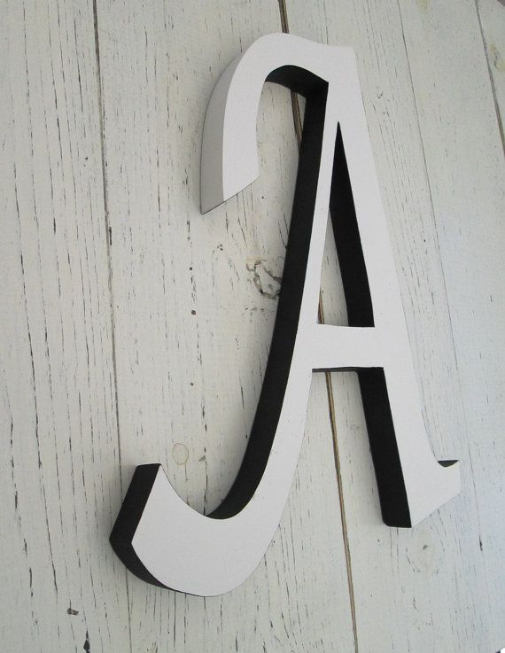 Letters To Hang On Wall calligraphy wall letters, decorative gallery wall decor, letters