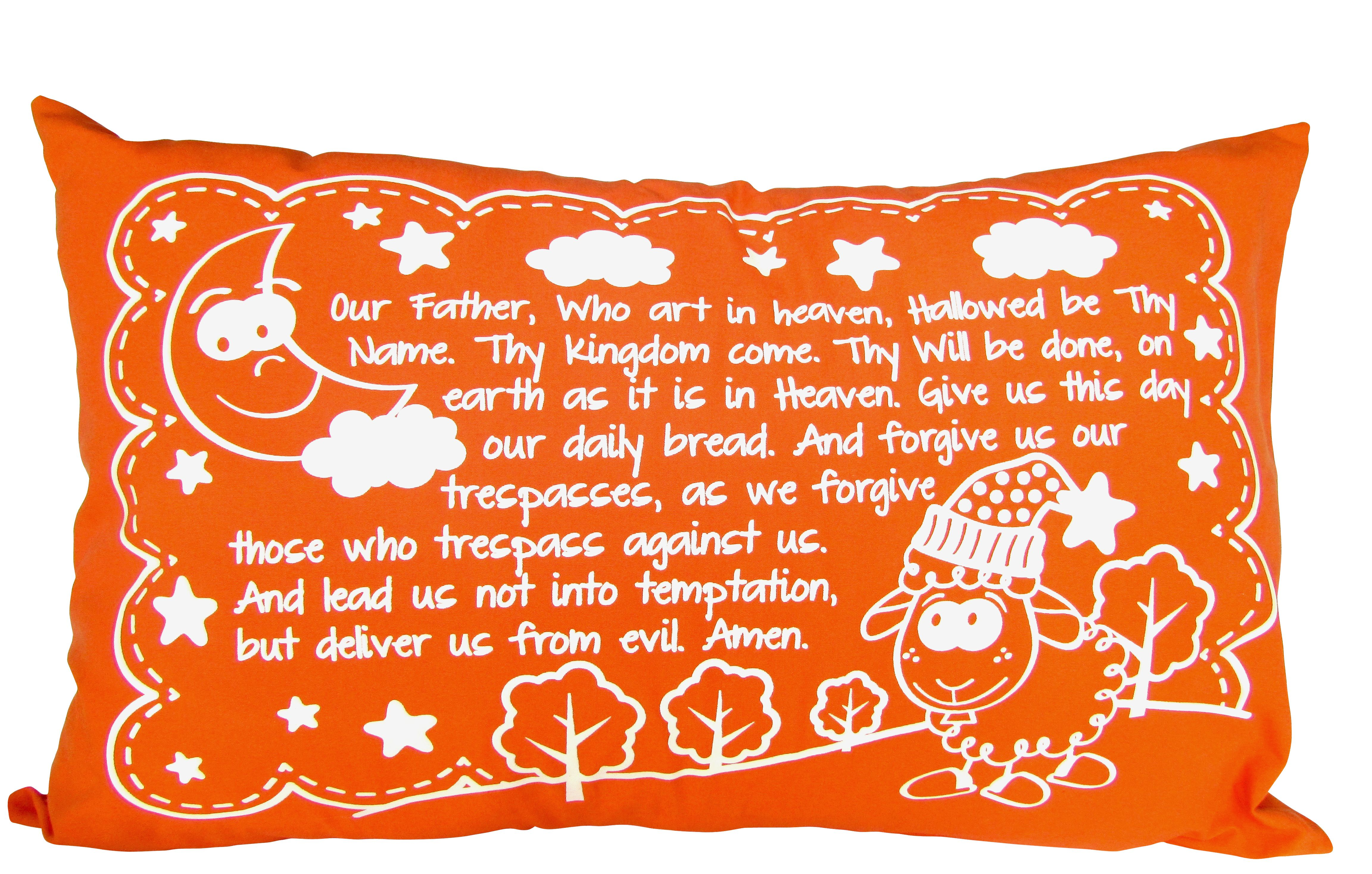 Pillowcase In Spanish Glow In The Dark Pillowcase With The Prayer Of Our Father Also