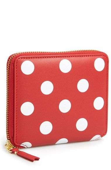 Cute polka dot French wallet http://rstyle.me/n/v4jsmnyg6