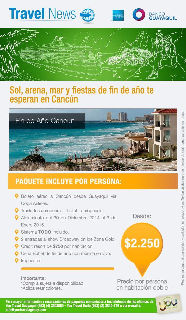 Sol Arena Mar Y Fiestas De Fin De Ano Te Esperan En Cancun Fin