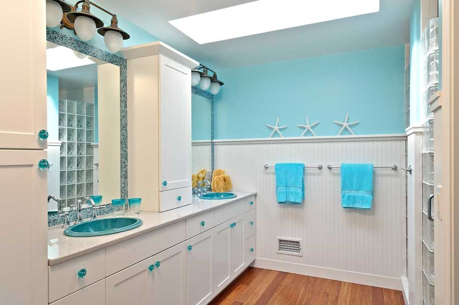 beach bathroom in hilliard - Bathroom Designs Beach Theme