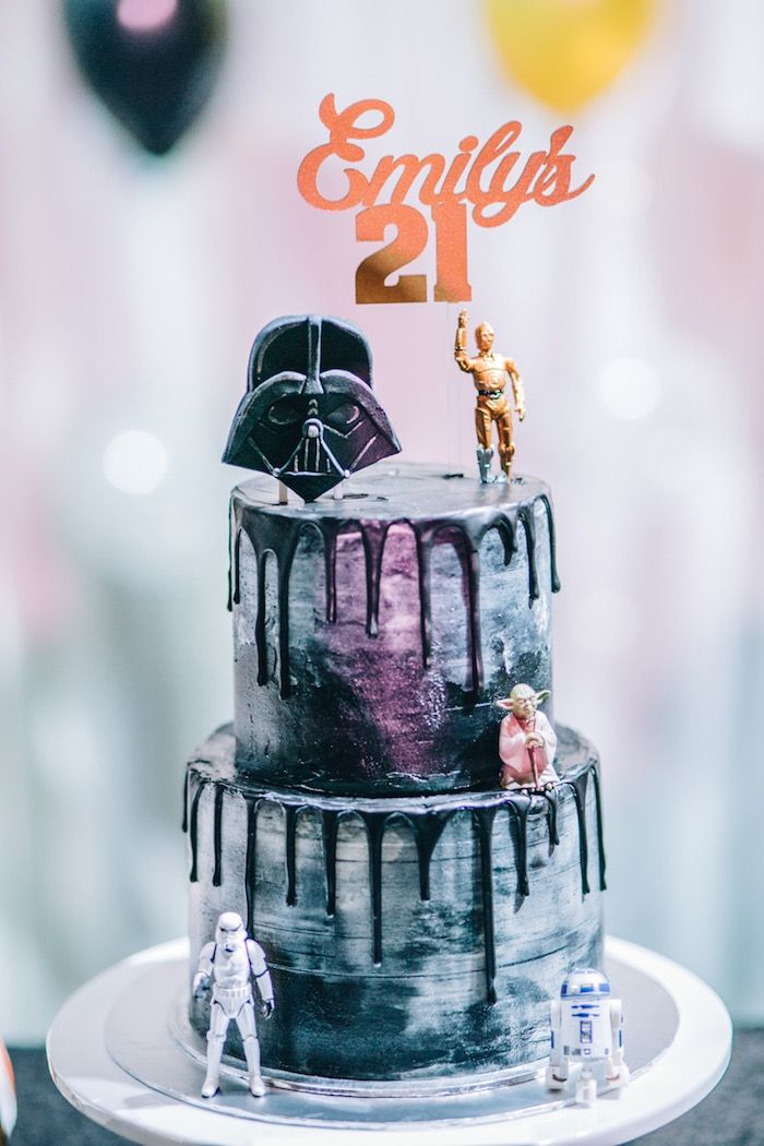 Glam Rock Star Wars Party Star Wars Cookies Star Wars
