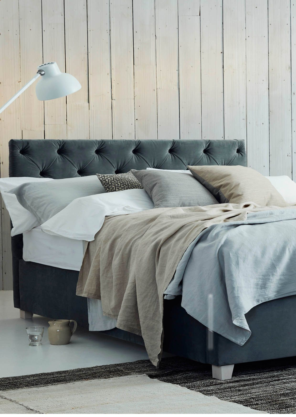 The Issie Upholstered Storage Bed Offers Contemporary Design For Less