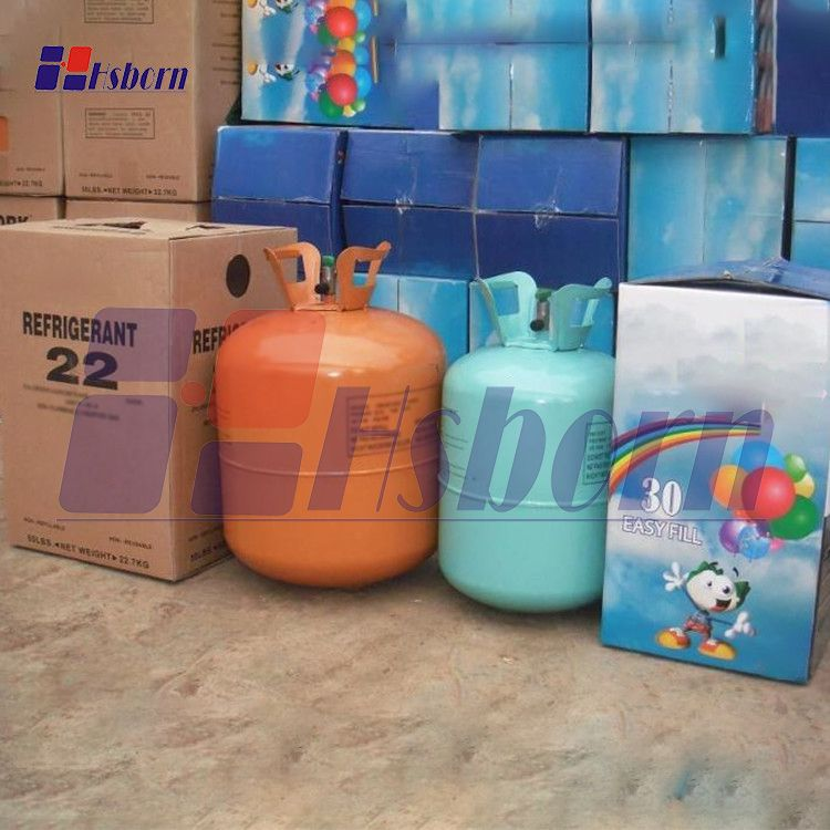 Helium gas tanks are mainly used for filling helium has
