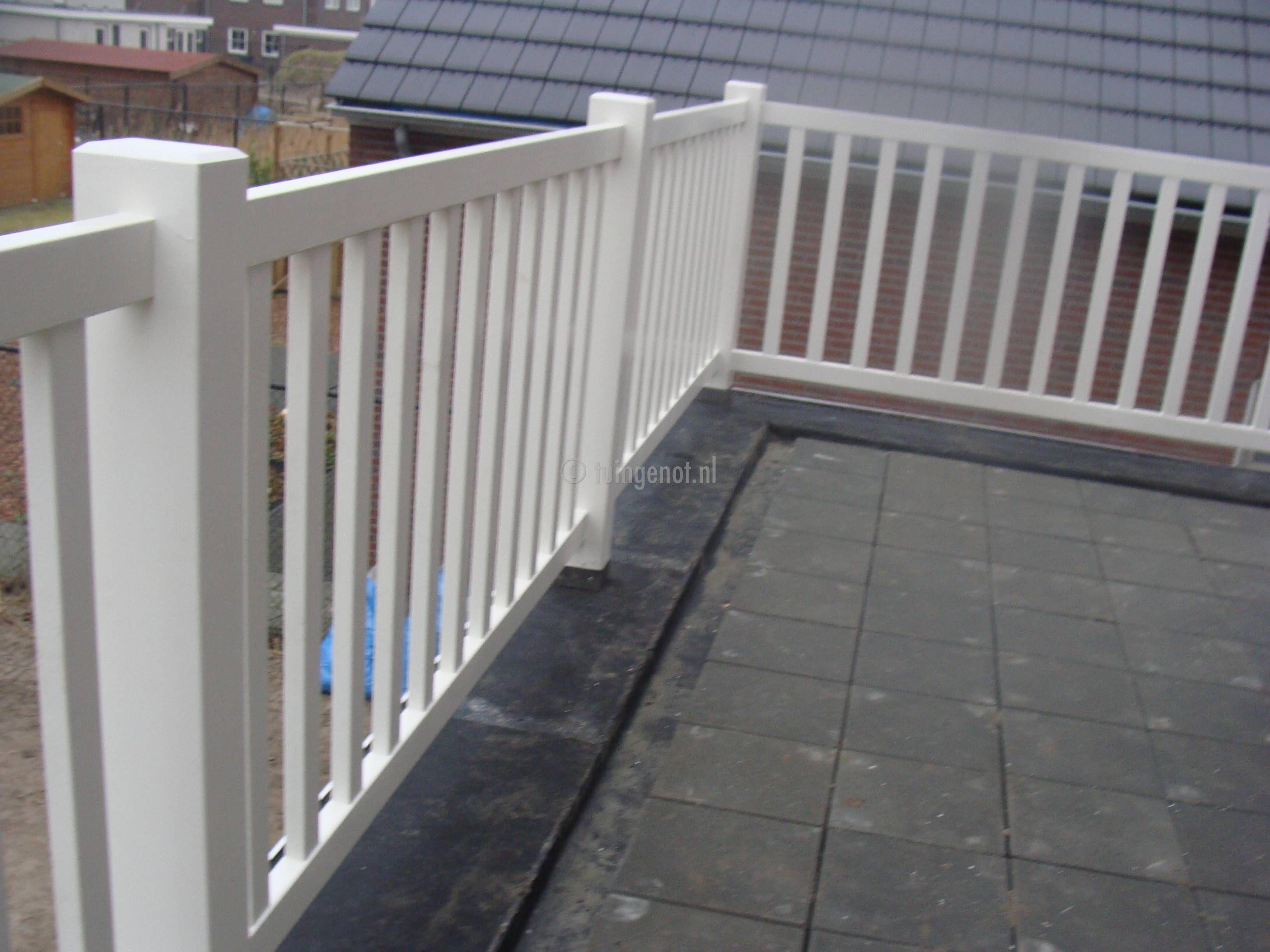 Houten balustrade terras google search tuin pinterest balconies - Terras hout ...