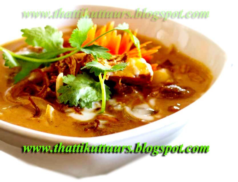 Thattikuttu: Goan Beef Curry with Coconut Milk - Beef curry Goan Recipe