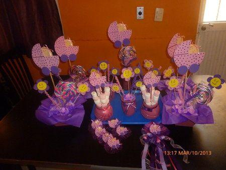 Hermosos centros de mesa para baby shower - centros de mesa para baby shower