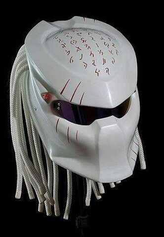 Amazing Predator Bike Helmet By Graf X Custom Paintwork Guy