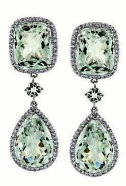 64b9743b2c279305fc281873da98979dg 247365 adornments christian dior green sapphire ear pendants to wear to a christmas black tie party aloadofball Choice Image