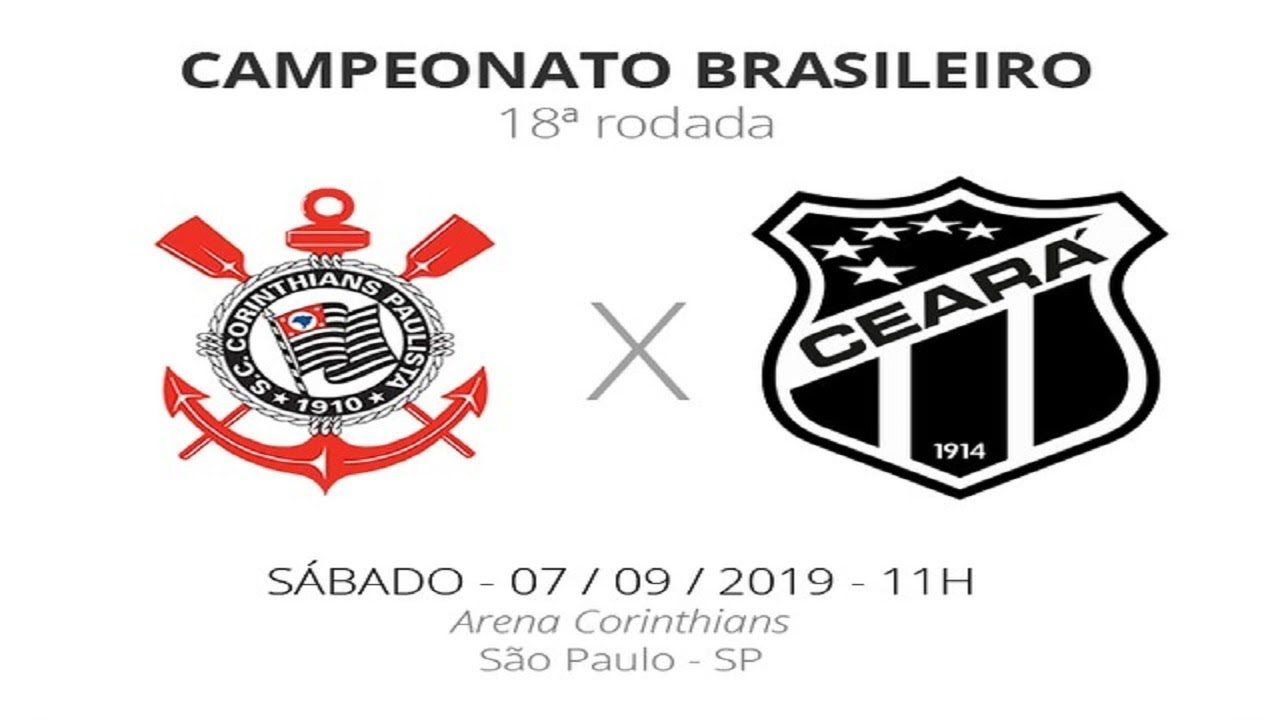 Corinthians 2 X 2 Ceara Melhores Momentos Brasileirao 2019 Brasileirao Corinthians 2 Ceara