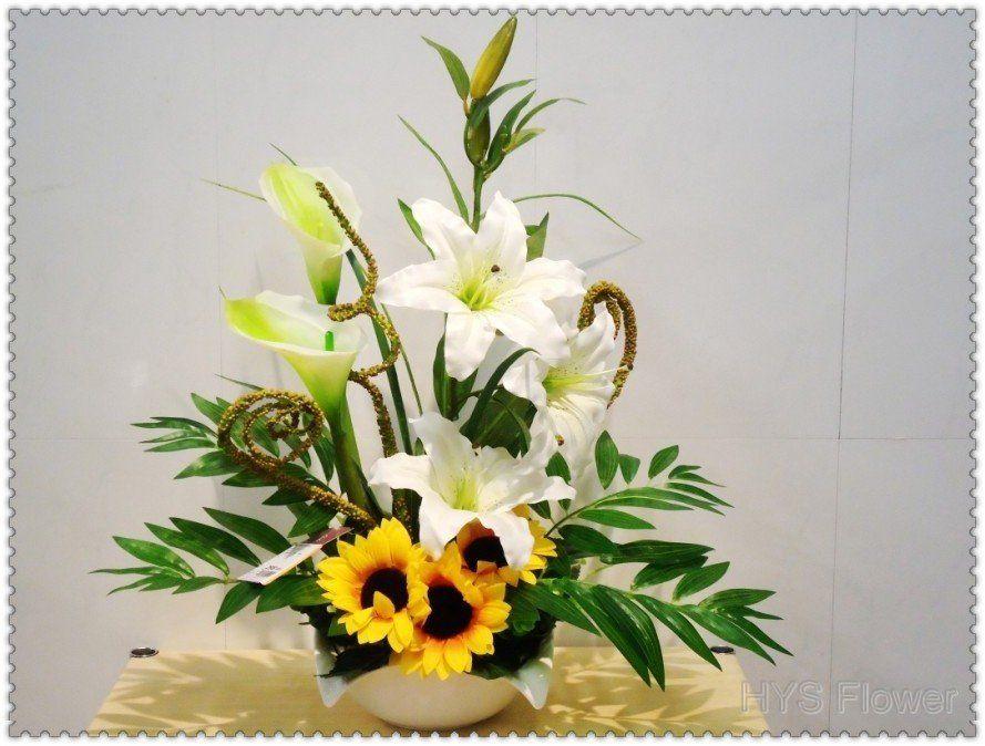 Pin de aurelia koziorowska en kwiaty pinterest arreglos for Centros de mesa artificiales