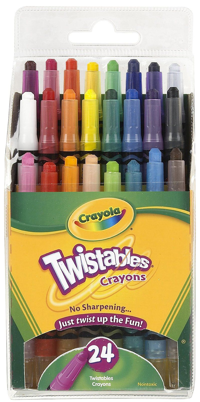 Crayola 24 Ct. Mini Twistables Crayons - $5.43 | Stationary | Pinterest