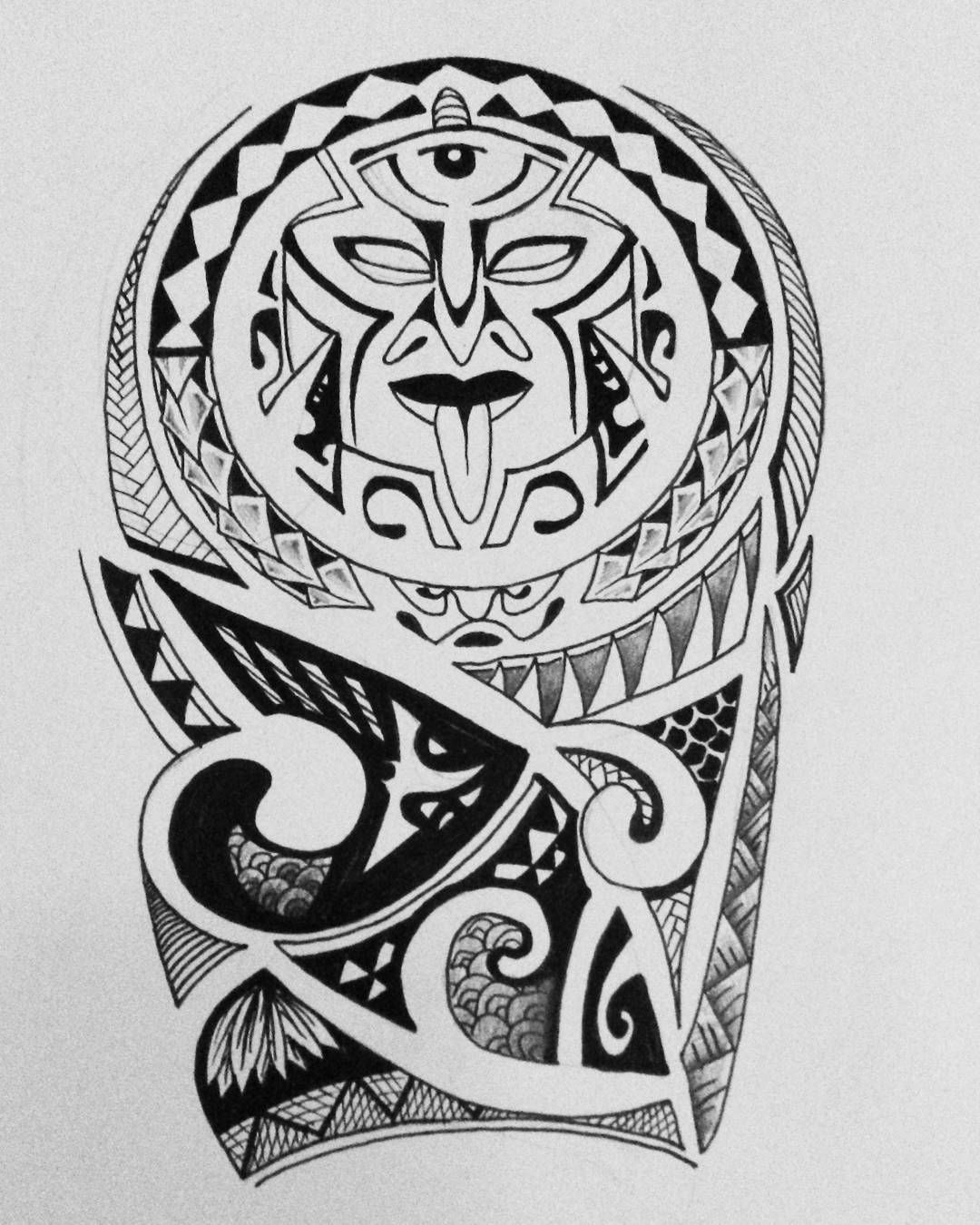 55 Best Maori Tattoo Designs Meanings: #tattoodesign #tattoo #design #maori #tribal #black