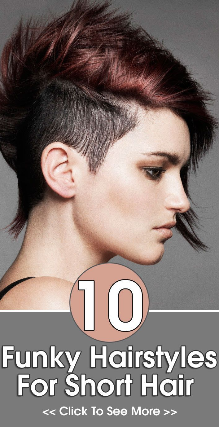 Stylish with short funky hairstyle simple hairstyle ideas for