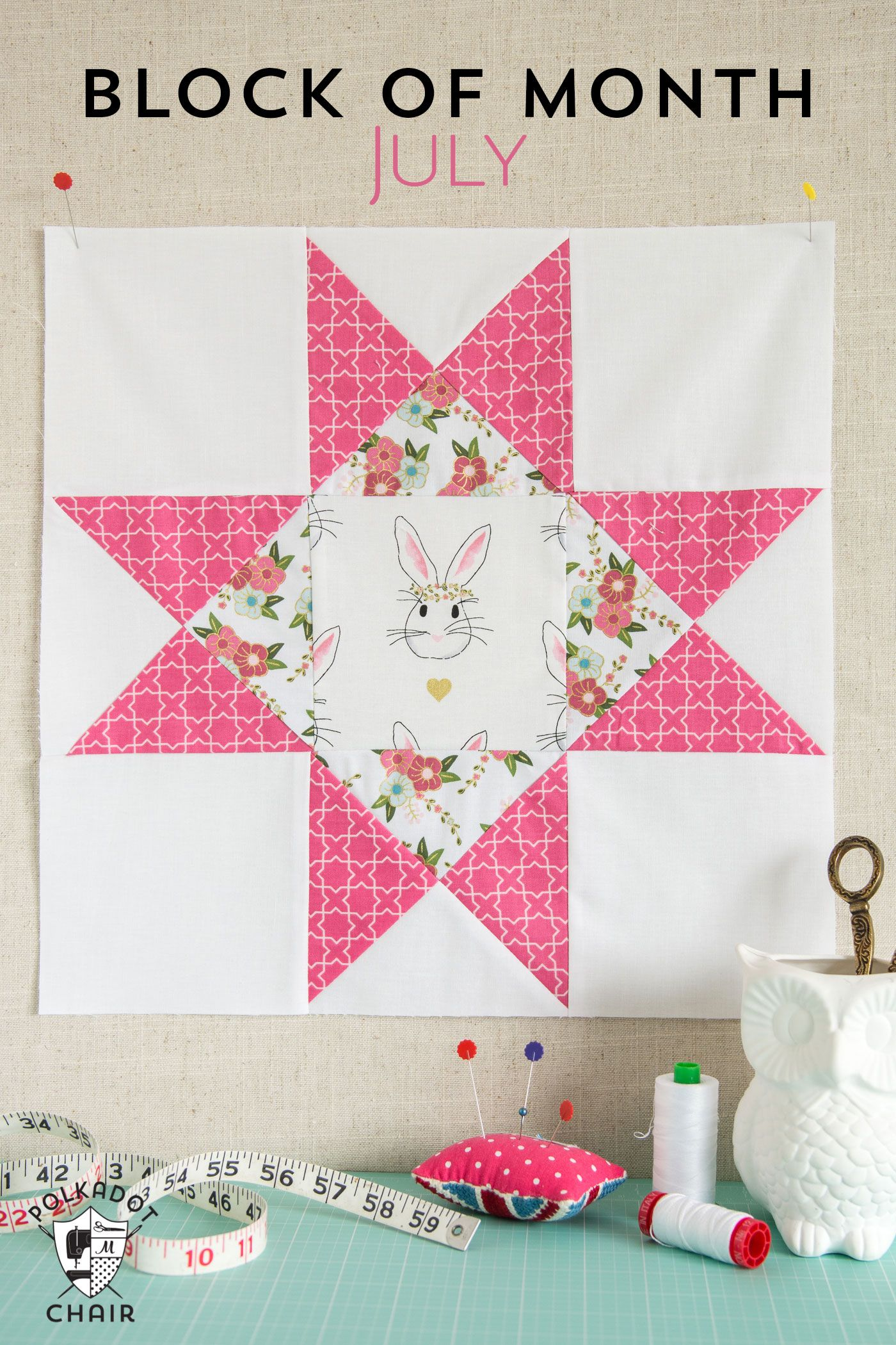 July Block of the Month; Ohio Star Quilt Block | Star quilt blocks ... : ohio star quilt shop - Adamdwight.com