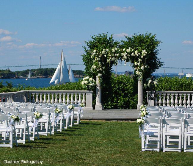 The 10 Best Wedding Venues In Newport Ri: Venue Saga #5: Castle Hill Inn, Newport