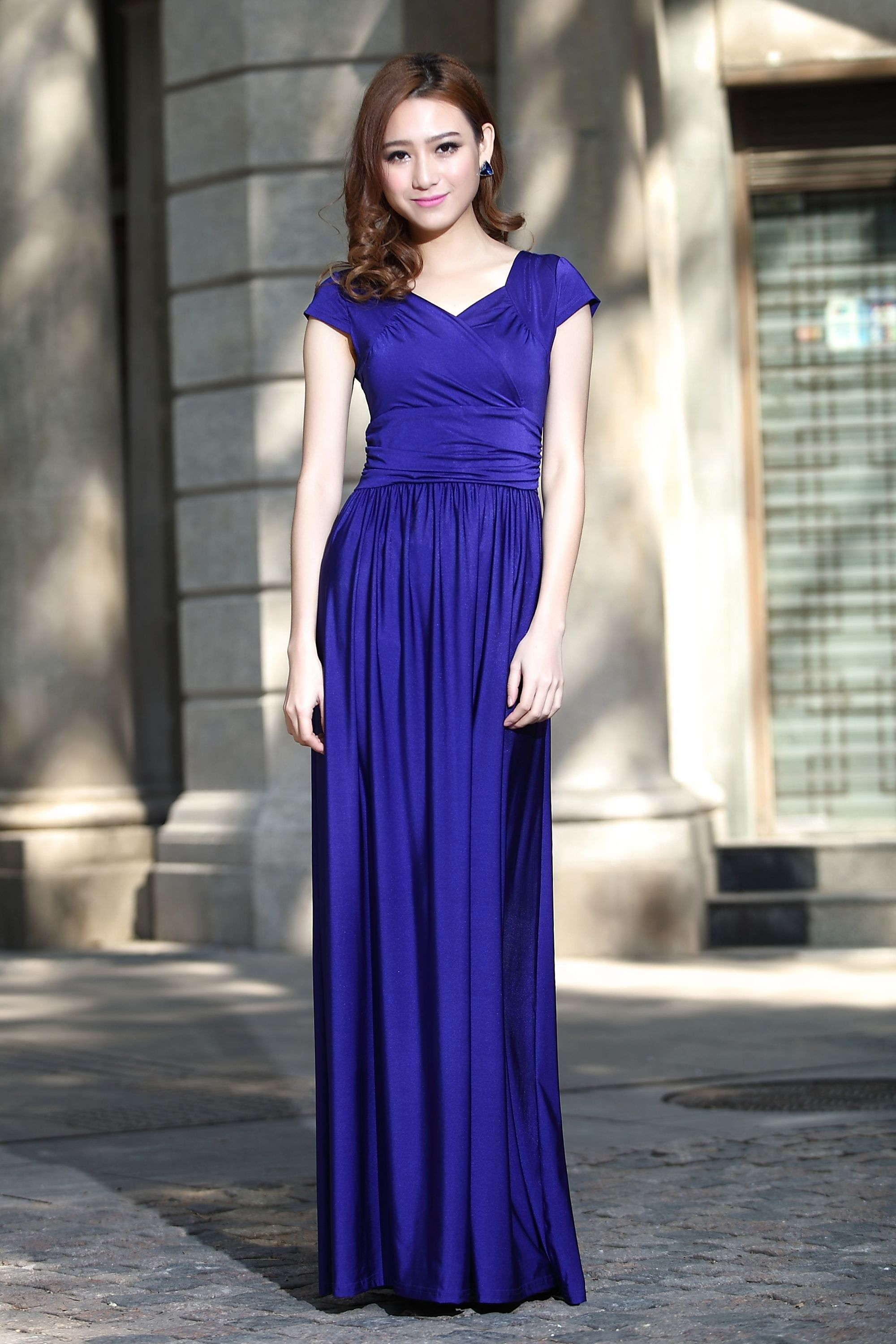 Royal Blue bridesmaid dress, evening prom dress, party dress, formal ...