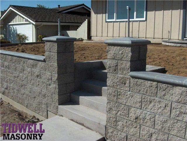 San Diego Masonry Contractors Tidwell Masonry Precast Concrete Columns Balustrades Wall Caps P Wall Exterior Cinder Block Walls Concrete Fence Wall