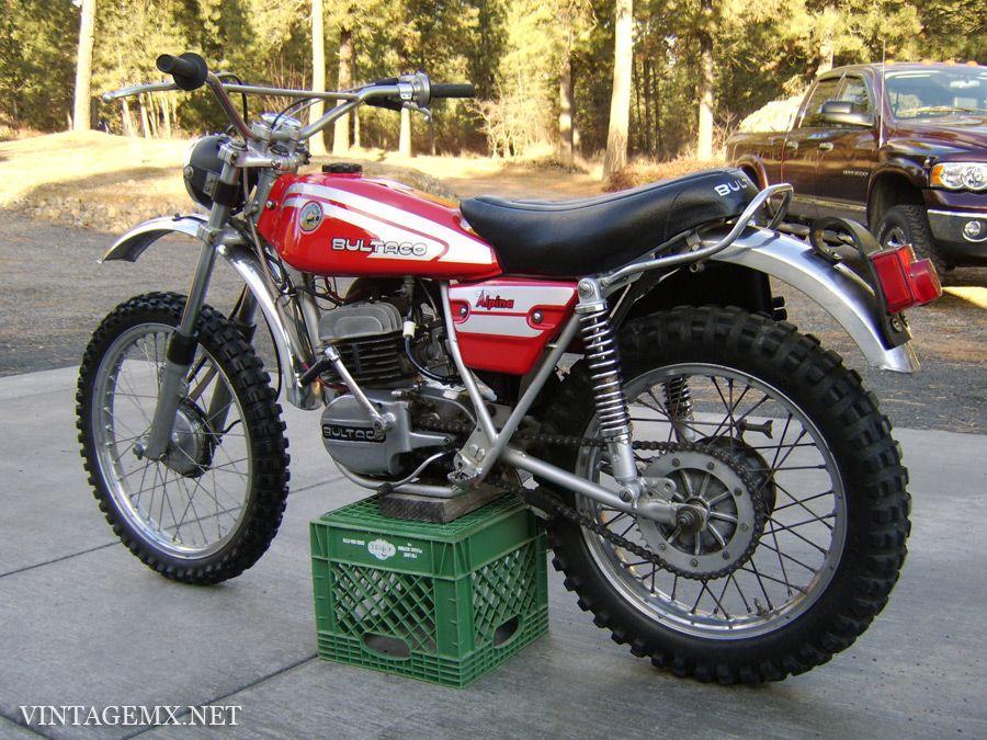 1976 Bultaco Alpina 250 Model 165 | VintageMX.net : VintageMX.net ...
