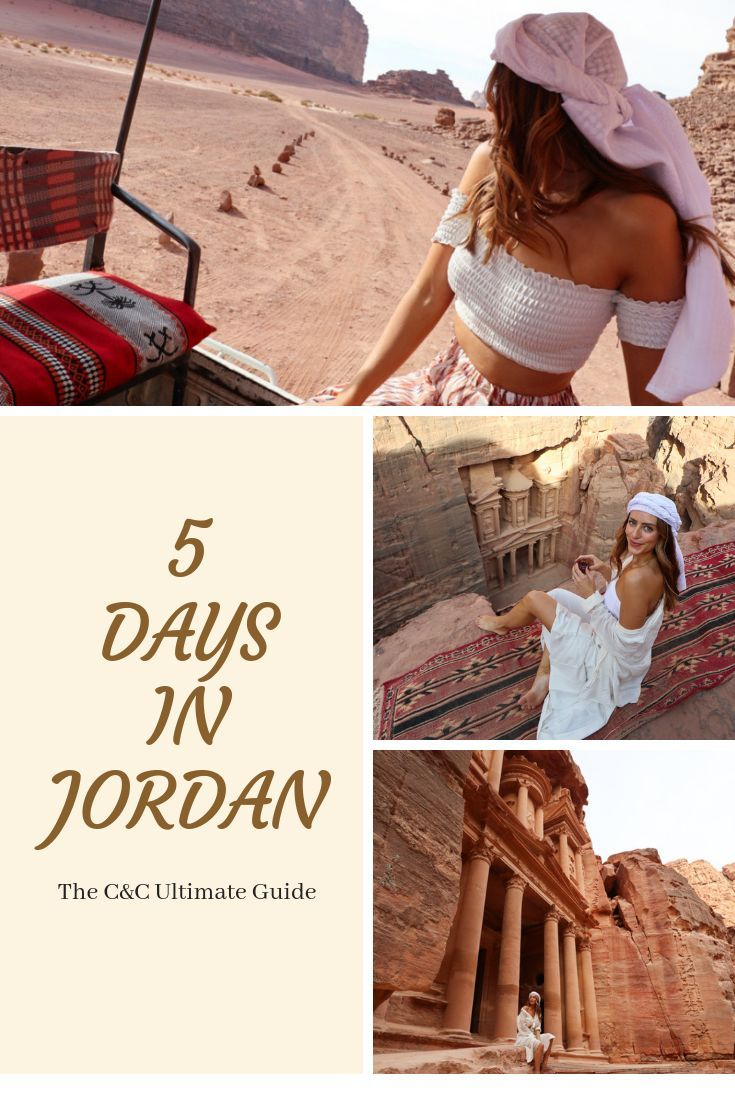5 Days in Jordan, The C&C Guide #traveltojordan