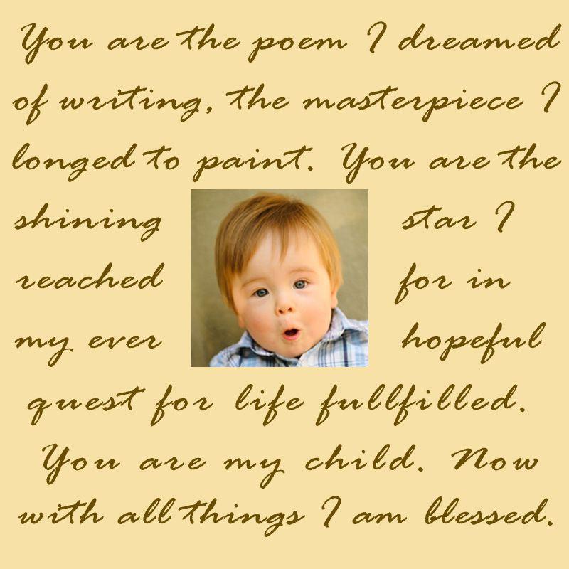 My shining star poem