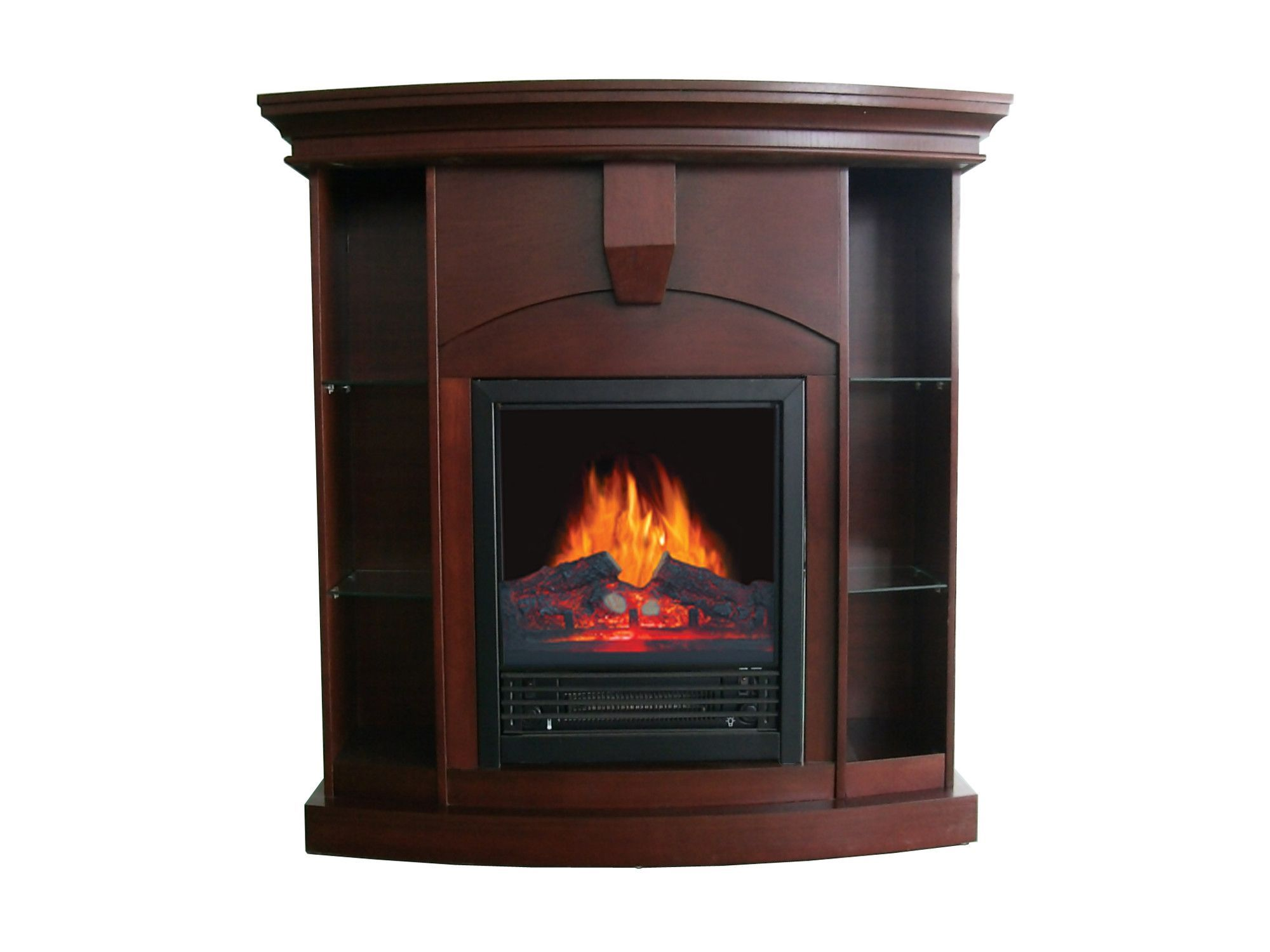 wessex corner curio electric fireplace products pinterest