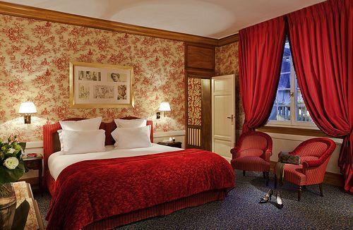 Calme et volupté pour cette chambre de l'Hôtel Normandy Barrière à Deauville | France   #France #Normandie #Normandy #Deauville #Hotel #Chambre #Bedroom