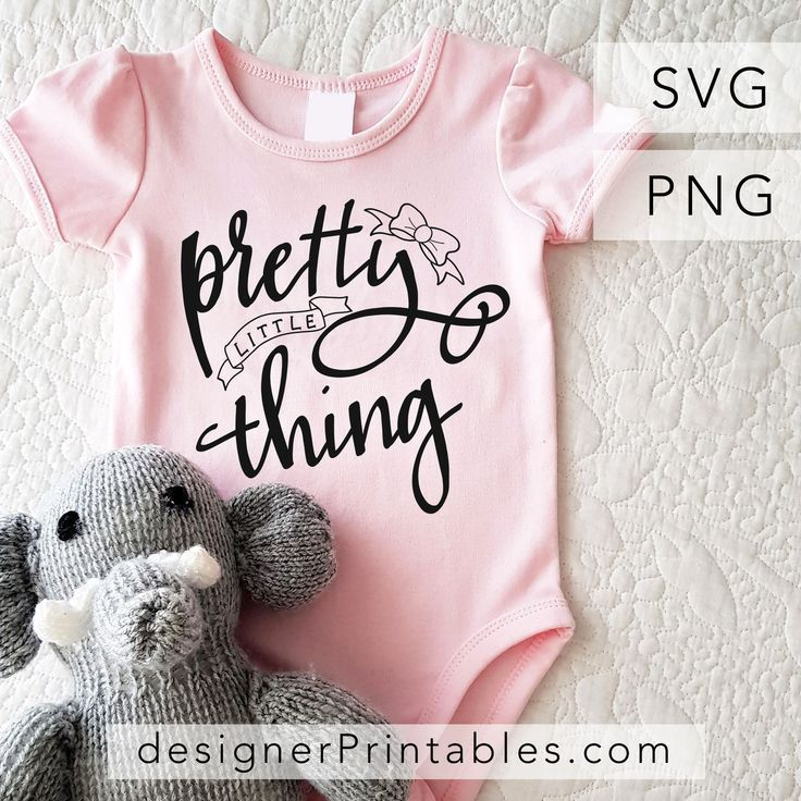 Download pretty little thing svg cut file, hand lettered svg cut ...