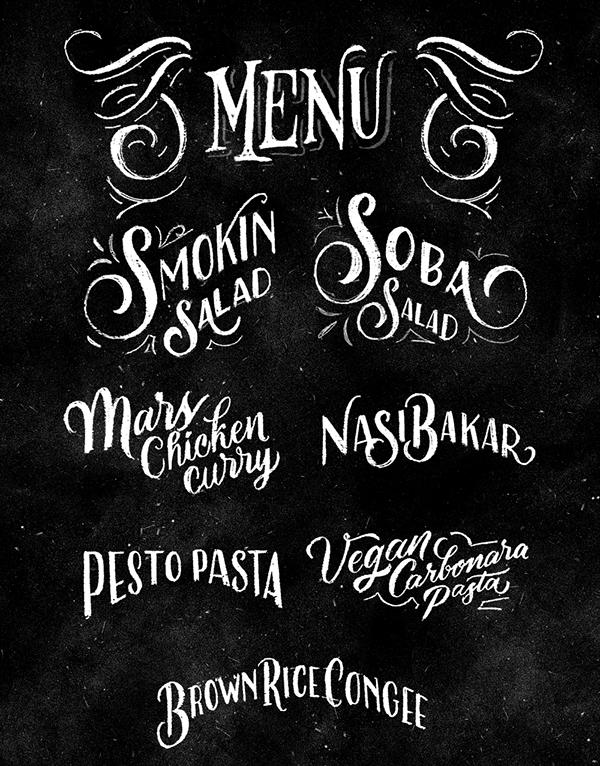 mars kitchen menu board design on behance 610 pinterest menu