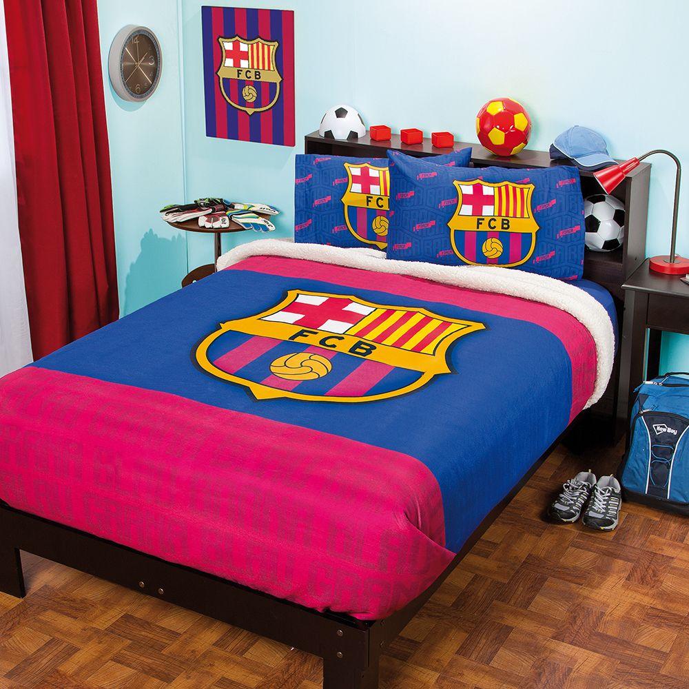 Cobertor fleece con borrega fcbarcelona recamara ni os - Dormitorios infantiles barcelona ...