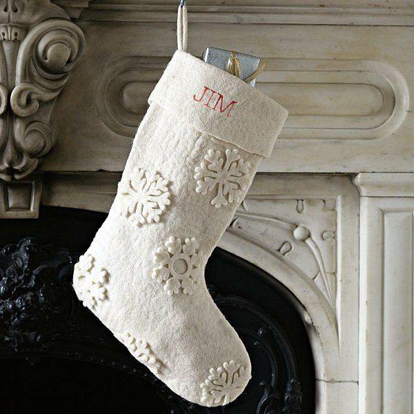 Weihnachtssocken - 17 hinreißende Deko-Ideen für Ihr frohes Fest ...