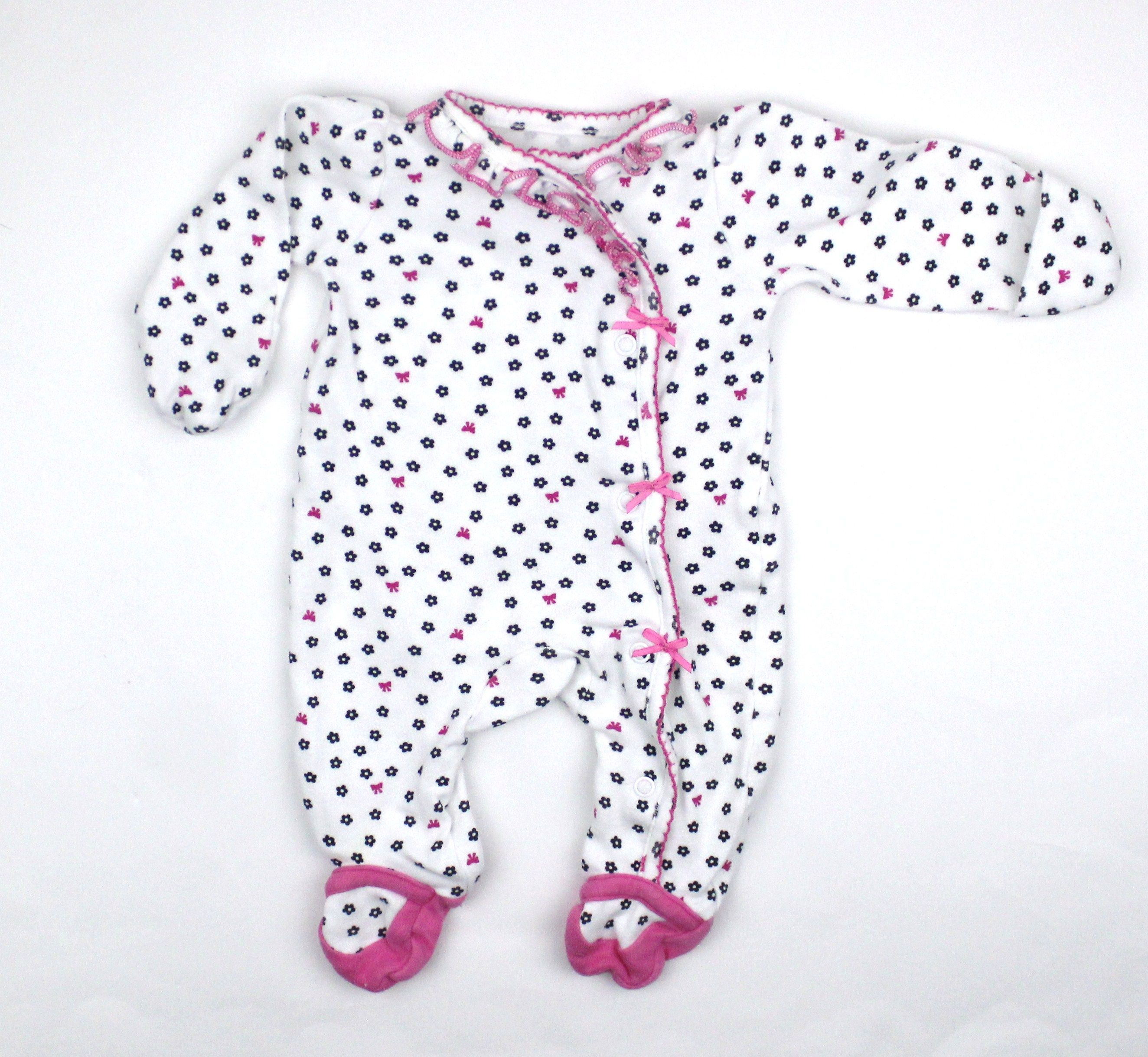 Newborn Baby Girl Sleeper by Carters ly $3 50 in Gently Used Baby